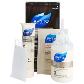 Phyto Color farba na vlasy 4 Chestnut 4 pcs