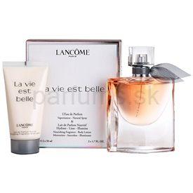 Lancome La Vie Est Belle darčeková sada III. parfémovaná voda 50 ml + telové mlieko 50 ml
