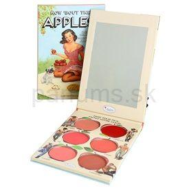 theBalm How 'Bout Them Apples? paleta krémových líceniek a rúžov (Lip and Cheek Cream Palette) 20 g