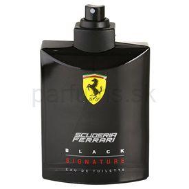 Ferrari Black Signature toaletná voda tester pre mužov 125 ml
