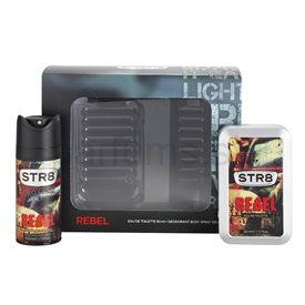 STR8 Rebel darčeková sada II. toaletná voda 50 ml + deodorant v spreji 150 ml