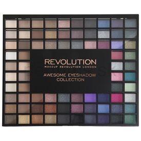 Makeup Revolution Nudes And Smoked Collection paleta očných tieňov 80 g