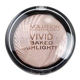 Makeup Revolution Vivid Baked Highlighter rozjasňujúci púder odtieň Peach Lights 7,5 g