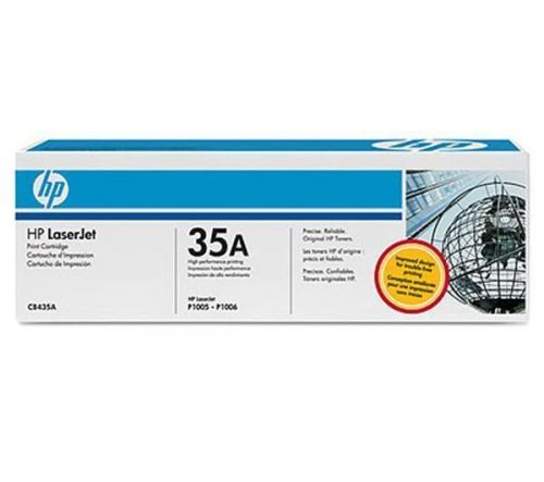 HP CB435A Černý